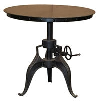 Classic Home Iron Crank Dining Table 284756