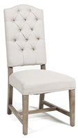 Classic Home Lime Washed Camel Dining Chair 290362