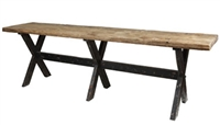 Classic Home Reclaimed Combination Wood Gathering Table 290474