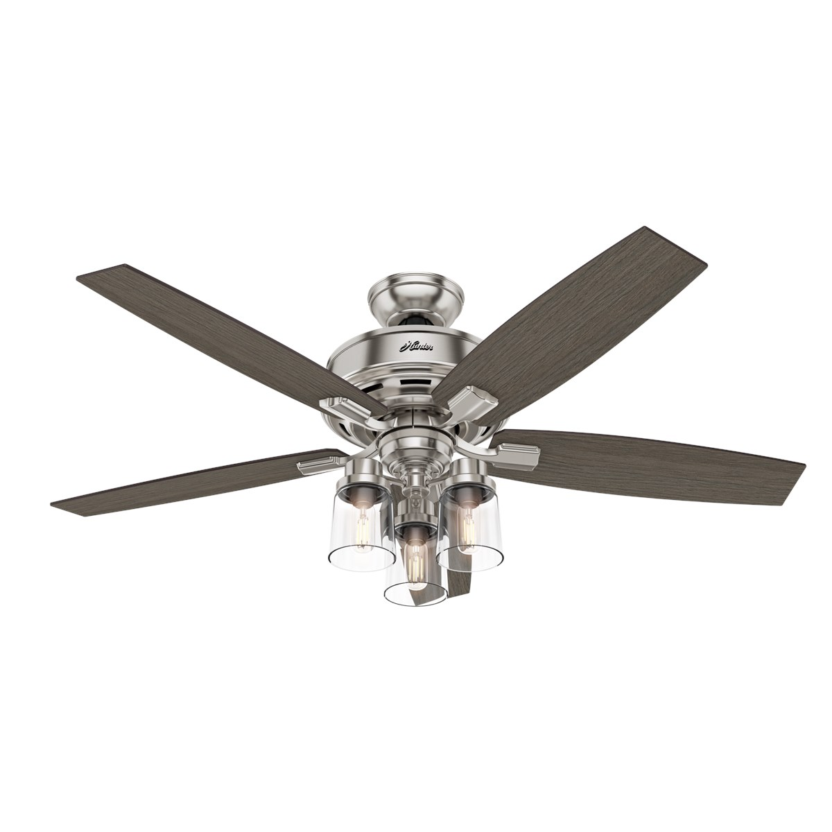 52 Ceiling Fan With Light Handheld Remote