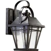 Baxter 1-Light 12-Inch Old World Outdoor Wall Lantern