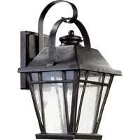 Baxter 1-Light 16-Inch Old World Outdoor Wall Lantern