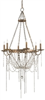 Currey Prophecy Chandelier The Shannon Koszyk Collection 9568