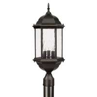 3 Light Post Lantern