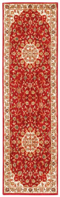"Kathy Ireland Ancient Times ""Palace"" Red Area Rug"