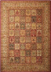 "Kathy Ireland Ancient Times ""Asian Dynasty"" Multicolor Area Rug"