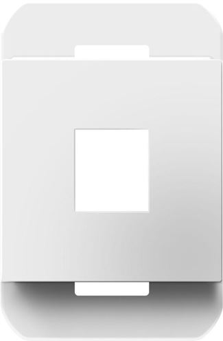 Legrand Adorne 1-Port Frame in White Finish - AC1PFW1