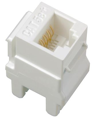 Legrand Adorne Cat 5e RJ45 Data / Phone Insert in White Finish - AC5ERJ45W1