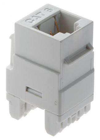 Legrand Adorne Cat 6 RJ45 Data Insert in White Finish - AC6RJ45W1