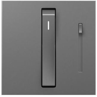 Legrand Adorne Wireless Remote Whisper Dimmer in Magnesium Finish - ADWRMRUM2