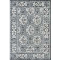 Alexandria 10 Steel Blue Power-Loomed Area Rug 2'x3' by Amer