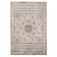"Cambridge 31 Light Gray Power-Loomed Area Rug 2'x3'3"" by Amer"