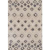 "Caribe 12 Beige Power-Loomed Area Rug 2'1""x3'1"" by Amer"