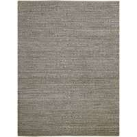 Naturals 6 Dark Gray Flat-Weave Area Rug 2'x3' by Amer