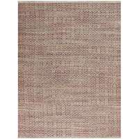 Zola 4 Rust Flat-Weave Area Rug 2'x3' by Amer