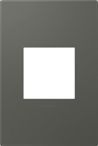 Legrand Adorne Moss Grey Switch Plate in Moss Grey Finish - AWP1G2MO6