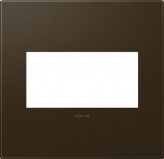 Legrand Adorne Bronze Switch Plate in Bronze Finish - AWP2GBR10