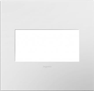 Legrand Adorne Gloss White Switch Plate in Gloss White Finish - AWP2GWH10