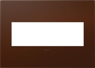 Legrand Adorne Russet Switch Plate in Russet Finish - AWP3GRS4