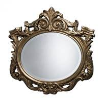 Sterling Raines Mirror In Antique Gold Leaf  DM1936