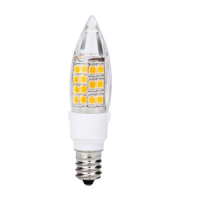 120V AC 4.0W Warm White LED E12 Base Candelabra Candle Light Bulb