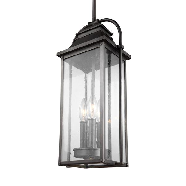 3-Light Outdoor Pendant Lantern