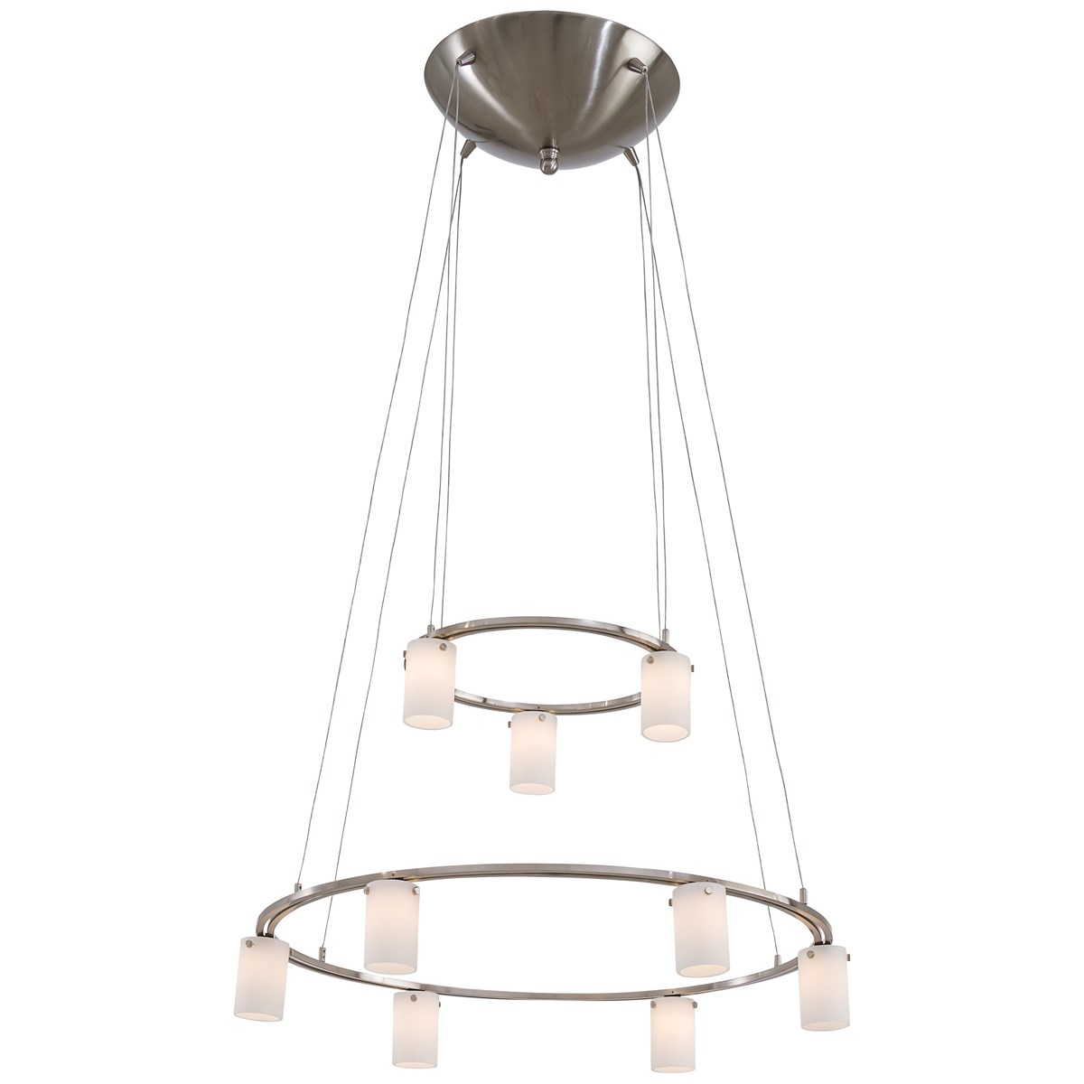 9 Light Low Voltage Chandelier