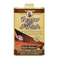Howard's Dark Walnut Restor-A-Finish RF6016