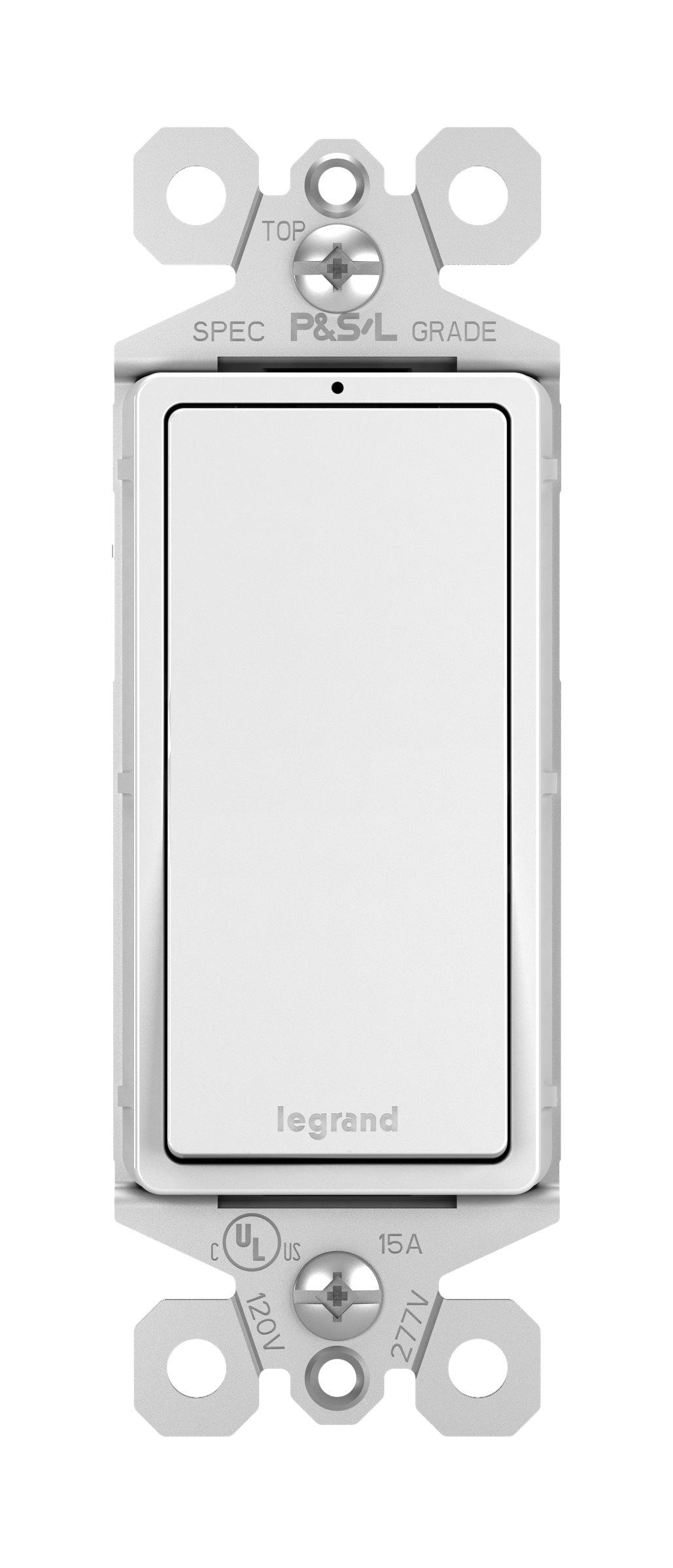 Legrand Radiant 3 Way Decorator Switch Lighted White 2
