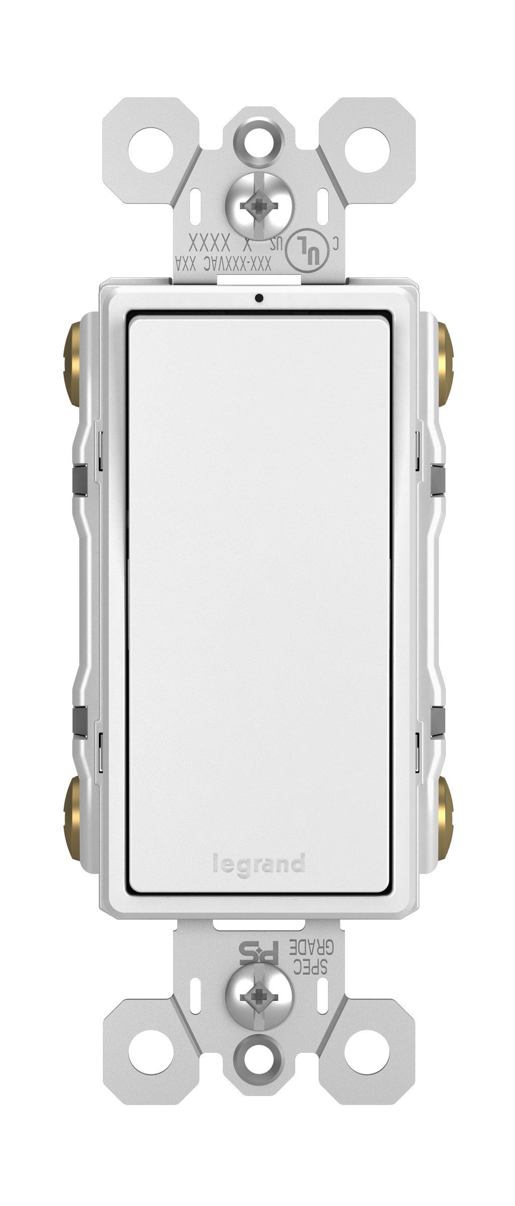 Legrand Radiant 4 Way Decorator Switch Lighted White 2