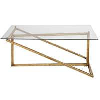 Uttermost Zerrin Glass Coffee Table