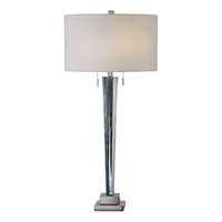 Uttermost Afina Brushed Nickel Table Lamp