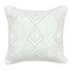 Classic Home Villa Textured Hues Black Throw Pillow V751086